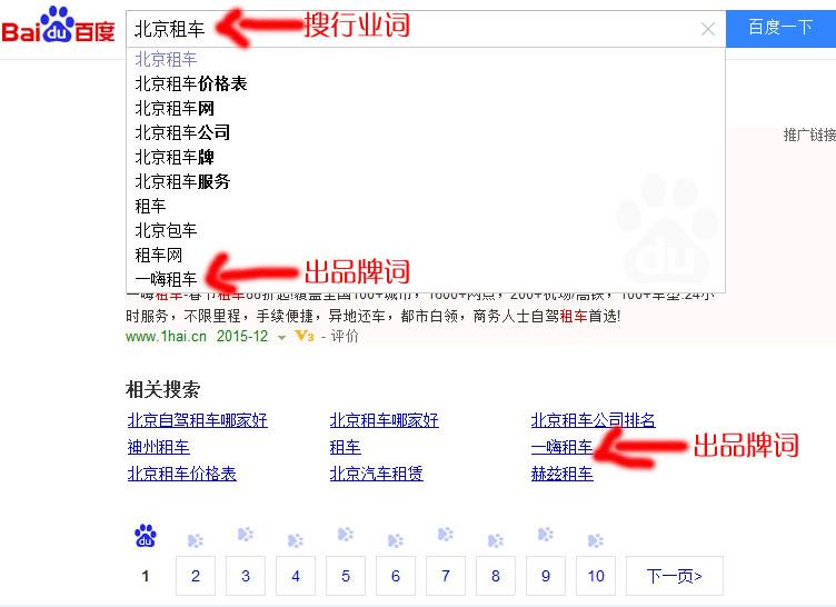 下拉菜单 seo 深圳网络推广 众山文化 百度排名优化